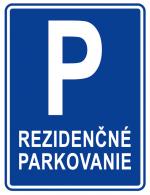 rezidencne parkovanie